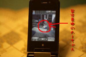 携帯でWebカメラ