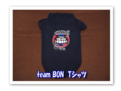 team BON紺色Tシャツ